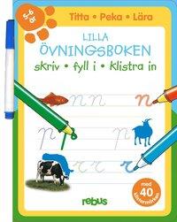 Lilla �vningsboken med stickers 5 - 6 �r (h�ftad)