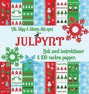 Vik klipp & klistra ditt eget julpynt : bok med instruktioner & 100 vackra papper