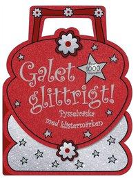 Galet glittrigt! : pysselväska med klistermärken (häftad)
