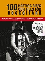 100 häftiga riffs och fills för rockgitarr