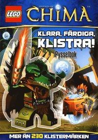 Lego legens of Chima - Klara, f�rdiga, klistra! (h�ftad)
