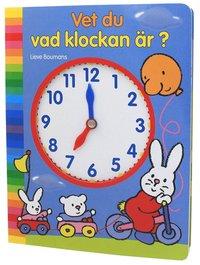 Vet du vad klockan �r? (kartonnage)