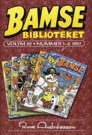 Bamsebiblioteket. Vol 29 Nummer 1-6 1987