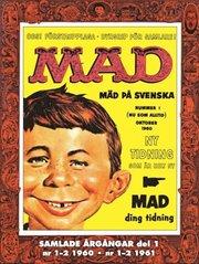 Svenska MAD Samlade årgångar del 1 1-2 1960 1-2 1961