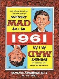 MAD - samlade �rg�ngar. Del 2, Nr 3-6 1961 (h�ftad)