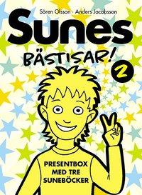 Sunes B�stisar. Sune och den tokiga teatern ; Sunes party ; L�skigt, Sune! (kartonnage)