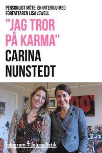 """""""Jag tror på karma"""" - Personligt möte: En intervju med författaren Lisa Jewell (e-bok)"""