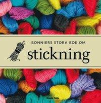 Bonniers stora bok om stickning (kartonnage)