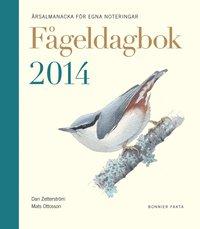 F�geldagbok 2014 : �rsalmanacka f�r egna noteringar (inbunden)