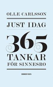 Just idag : 365 tankar för sinnesro