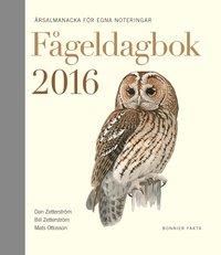 F�geldagbok 2016 : �rsalmanacka f�r egna noteringar (inbunden)