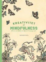 Kreativitet och mindfulness : 24 kort på växter och djur att färglägga och skicka