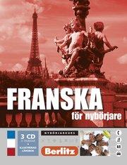 Franska för nybörjare språkkurs: Språkkurs med 3 CD