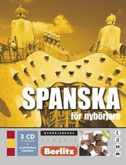 Spanska för nybörjare språkkurs: Språkkurs med 3 CD