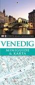 Venedig : miniguide & karta