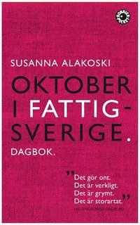 Oktober i Fattigsverige : dagbok (pocket)