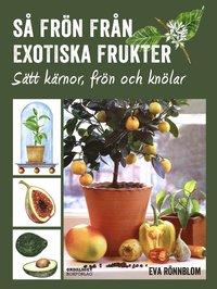 S� fr�n fr�n exotiska frukter - s�tt k�rnor, fr�n och kn�lar (inbunden)