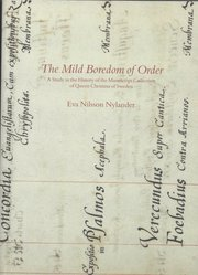 The Mild Boredom of Order – A Study in the History of the Manuscript Collection of Queen Christina of Sweden