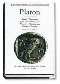 Skrifter 2 Menon Protagoras Lysis Charmides Ion Menexenos Euthydemos Faidro (inbunden)