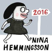 Nina Hemmingsson Almanacka 2016 (e-bok)