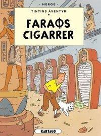 Tintins �ventyr. Faraos cigarrer (kartonnage)