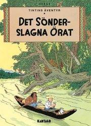 Tintins äventyr. Det sönderslagna örat