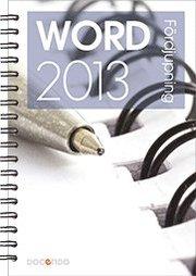 Word 2013 Fördjupning
