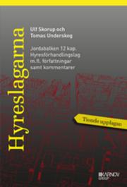 Hyreslagarna 2016. Jordabalken 12 kap.