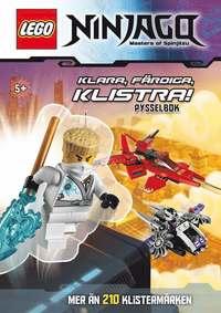 LEGO Ninjago : klara, f�rdiga, klistra! (h�ftad)