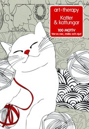 Katter & kattungar : 100 motiv – varva ner måla och njut