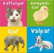 Pigga pekböcker – Djur Valpar Kattungar och Bondgårdsdjur (4 minipek)