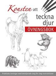 Konsten att teckna djur : övningsbok