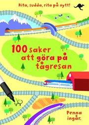 100 saker att göra på tågresan