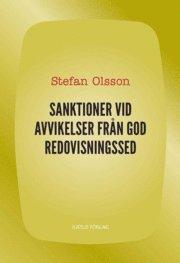 Sanktioner vid avvikelser från god redovisningssed