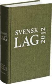 Svensk lag 2012 (inbunden)