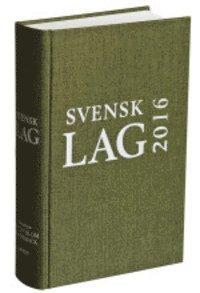 Svensk Lag 2016 (inbunden)
