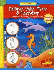 Delfiner valar fiskar & havsväsen