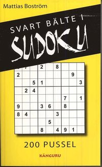 Svart b�lte i sudoku : 200 pussel (kartonnage)