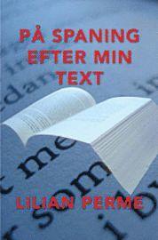 På spaning efter min text