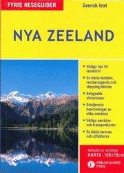 Nya Zeeland med karta