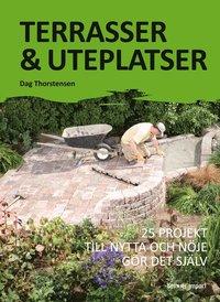 Terrasser & uteplatser : 25 projekt till nytta och n�je g�r det sj�lv (kartonnage)