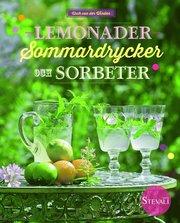 Lemonader sommardrycker och sorbeter