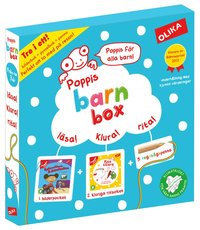 Poppis Barnbox (turkos) (h�ftad)