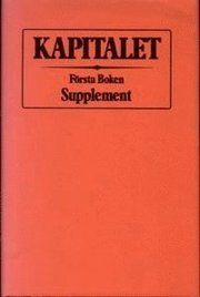 Kapitalet : Första boken. Supplement