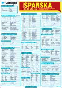 Spanska Ord & Uttryck - Snabbguide till ett grundl�ggande ordf�rr�d i spanska ()