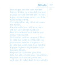 Gl�nta 1.12 Arktis (inbunden)