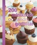 200 minikakor och andra godbitar (inbunden)