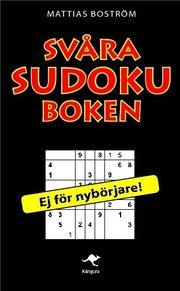 Sv�ra sudokuboken (pocket)
