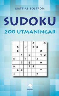 Sudoku : 200 utmaningar (kartonnage)