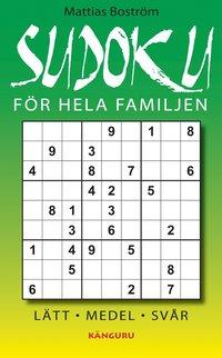 Sudoku f�r hela familjen (kartonnage)